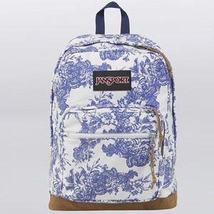 JANSPORT {Original Collection} Floral Backpack